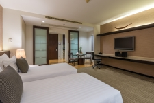 Emporium Suites by Chatrium - Deluxe Room City View- Room Only